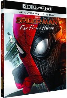 Spider-Man: loin de chez soi (2019) de Jon Watts - Pack Blu-ray Ultra HD 4K