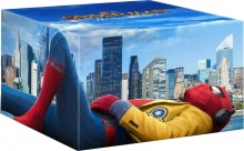 Spider-Man : Homecoming - Édition Limitée 4K Ultra HD + Blu-ray 3D + Blu-ray 2D + Blu-ray Bonus + Figurine (2017) de Jon Watts - Packshot Blu-ray 4K Ultra HD