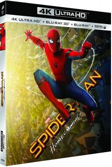 Spider-Man: Homecoming (2017) de Jon Watts - Image de compression Blu-ray Ultra HD 4K