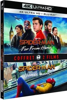 Spider-Man: Retour à la maison + Spider-Man: loin de chez soi - Image de compression Blu-ray Ultra HD 4K