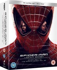 Spider-Man Legacy Collection: Spider-Man 1-3 + Amazing Spider-Man 1-2 - Image de compression Blu-ray Ultra HD 4K