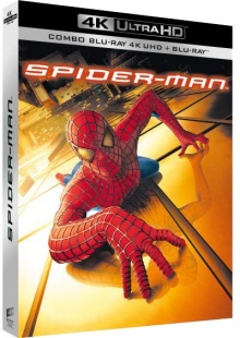 Spider-Man (2002), par Sam Raimi - Packshot Blu-ray 4K Ultra HD