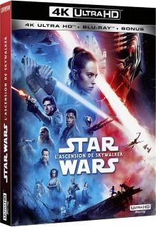 Star Wars, épisode IX – L'Ascension de Skywalker (2019) de J.J. Abrams – Packshot Blu-ray 4K Ultra HD