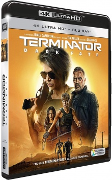Terminator : Dark Fate (2019) de Tim Miller – Packshot Blu-ray 4K Ultra HD