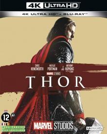 Thor (2011) de Kenneth Branagh - Packshot Blu-ray 4K Ultra HD