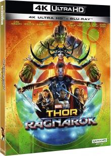 Thor : Ragnarok (2017) de Taika Waititi - Packshot Blu-ray 4K Ultra HD