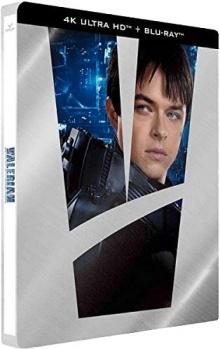 Valérian et la Cité des Mille Planètes (2017) de Luc Besson - Steelbook édition limitée - Packshot Blu-ray 4K Ultra HD
