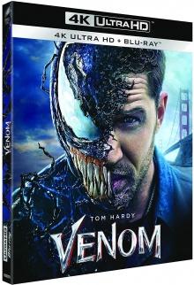 Venom (2018) de Ruben Fleischer - Packshot Blu-ray 4K Ultra HD