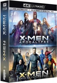 X-Men : Apocalypse + X-Men : Days of Future Past - Packshot Blu-ray 4K Ultra HD