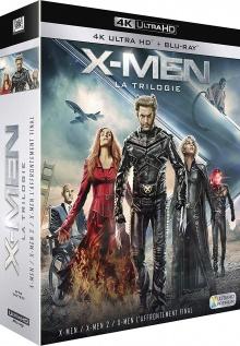 X-Men - La Trilogie : X-Men + X-Men 2 + X-Men : L'affrontement final - Packshot Blu-ray 4K Ultra HD