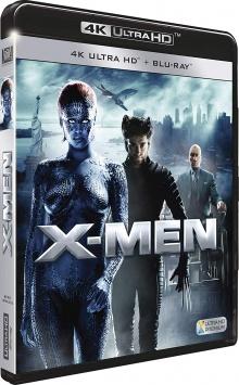 X-Men (2000) de Bryan Singer - Packshot Blu-ray 4K Ultra HD