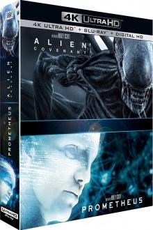 Alien: Covenant + Prometheus – Packshot Blu-ray 4K Ultra HD