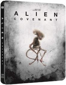 Alien: Covenant (2017) de Ridley Scott - Édition SteelBook – Packshot Blu-ray 4K Ultra HD