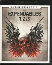 Expendables : La Trilogie – Packshot Blu-ray 4K Ultra HD