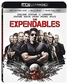 Expendables : Unité spéciale (2010) de Sylvester Stallone – Packshot Blu-ray 4K Ultra HD