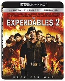 Expendables 2 : Unité spéciale (2012) de Simon West – Packshot Blu-ray 4K Ultra HD