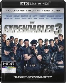 Expendables 3 (2014) de Patrick Hughes – Packshot Blu-ray 4K Ultra HD