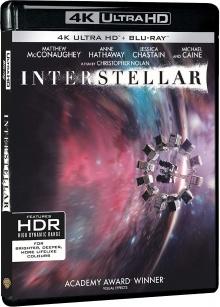Interstellar (2014) de Christopher Nolan - Packshot Blu-ray 4K Ultra HD