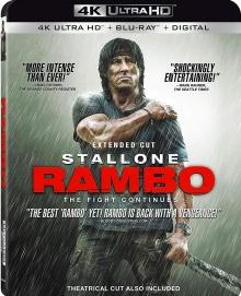 John Rambo (2008) de Sylvester Stallone – Packshot Blu-ray 4K Ultra HD