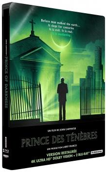Prince des ténèbres (1987) de John Carpenter - Édition boîtier SteelBook – Packshot Blu-ray 4K Ultra HD
