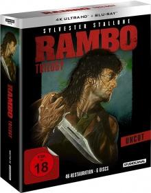 Rambo : La Trilogie – Packshot Blu-ray 4K Ultra HD