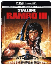 Rambo III (1988) de Peter MacDonald – Packshot Blu-ray 4K Ultra HD
