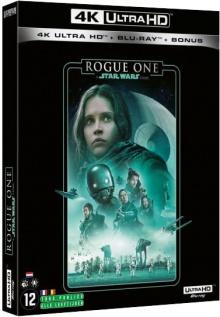 Rogue One : A Star Wars Story (2016) de Gareth Edwards – Packshot Blu-ray 4K Ultra HD