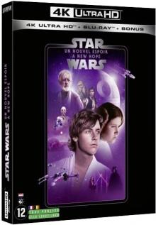 Star Wars, épisode IV : Un nouvel espoir (1977) de George Lucas – Packshot Blu-ray 4K Ultra HD