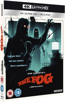 The Fog (1980) de John Carpenter - Packshot Blu-ray 4K Ultra HD