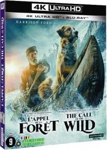 L'Appel de la forêt (2020) de Chris Sanders – Packshot Blu-ray 4K Ultra HD