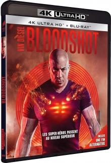 Bloodshot (2020) de Dave Wilson – Packshot Blu-ray 4K Ultra HD