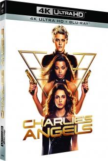 Charlie's Angels (2019) de Elizabeth Banks - Packshot Blu-ray 4K Ultra HD