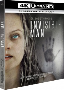 Invisible Man (2020) de Leigh Whannell – Packshot Blu-ray 4K Ultra HD