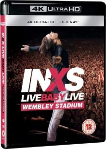 INXS: Live Baby Live (Wembley Stadium) - Packshot Blu-ray 4K Ultra HD