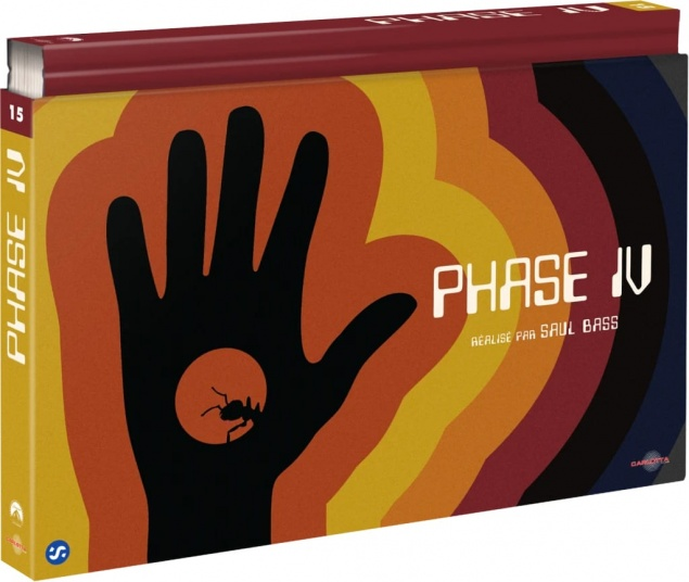 Phase IV (1974) de Saul Bass - Édition Coffret Ultra Collector – Packshot Blu-ray