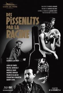 Des Pissenlits par la racine - Jaquette Blu-ray (Coin de Mire Cinéma)