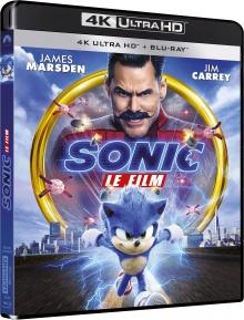 Sonic le film (2020) de Jeff Fowler - Packshot Blu-ray 4K Ultra HD