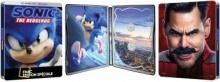Sonic le film (2020) de Jeff Fowler – Steelbook Édition Spéciale Fnac - Packshot Blu-ray 4K Ultra HD