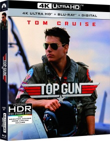 Top Gun (1986) de Tony Scott – Packshot Blu-ray 4K Ultra HD