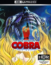 Cobra, le film (1982) de Osamu Dezaki - Packshot Blu-ray 4K Ultra HD