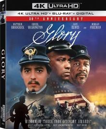Glory (1989) de Edward Zwick - Packshot Blu-ray 4K Ultra HD