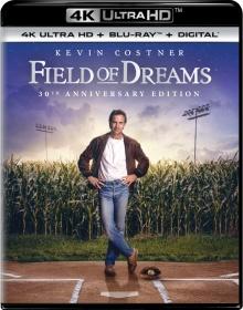 Jusqu'au bout du rêve (1989) de Phil Alden Robinson - Packshot Blu-ray 4K Ultra HD