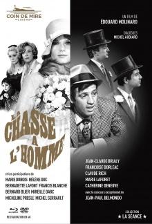 La Chasse à l'homme - Jaquette Combo (Coin de Mire Cinéma)