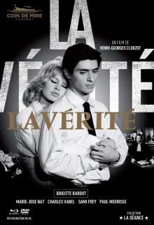 La Vérité (1960) - Jaquette Blu-ray (Coin de Mire Cinéma)