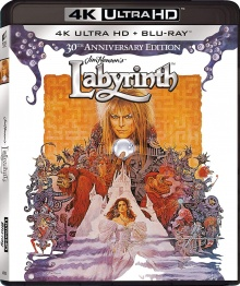 Labyrinthe (1986) de Jim Henson - Packshot Blu-ray 4K Ultra HD