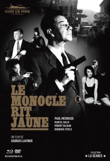 Le Monocle rit jaune - Jaquette Blu-ray (Coin de Mire Cinéma)