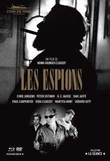 Les Espions - Jaquette Blu-ray (Coin de Mire Cinéma)