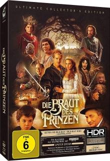 Princess Bride (1987) de Rob Reiner - Ultimate Collector's Edition - Packshot Blu-ray 4K Ultra HD