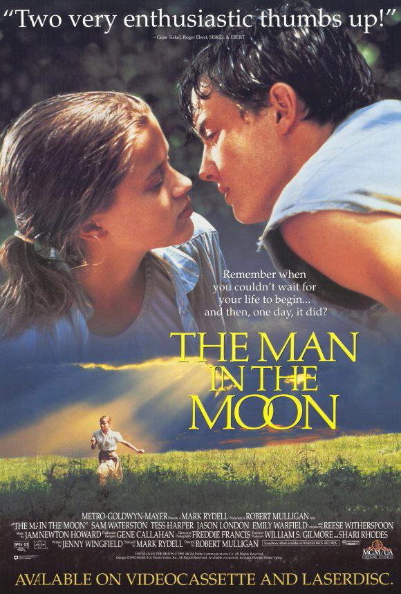 The Man in the Moon (Un été en Louisiane) - Affiche vidéo vintage