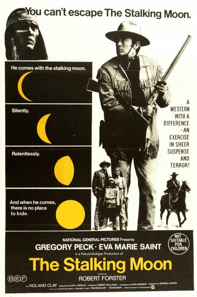 L'Homme sauvage (The Stalking Moon) - Affiche US